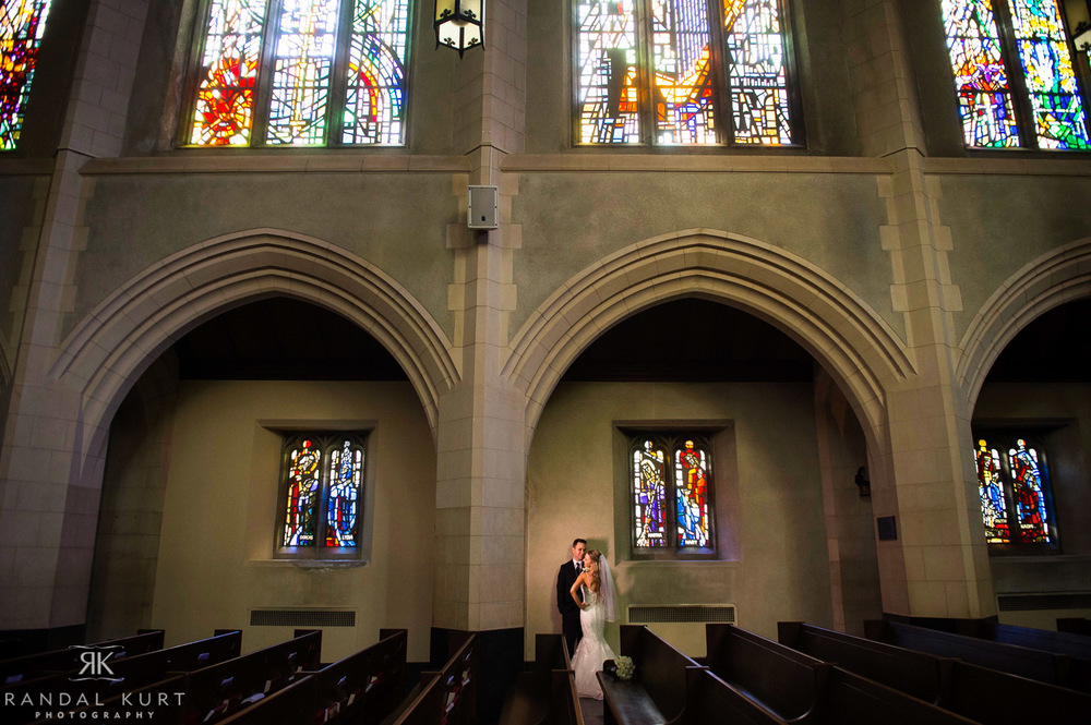 Married at the Holy Rosary Cathedral and Terminal City Club in Vancouver.