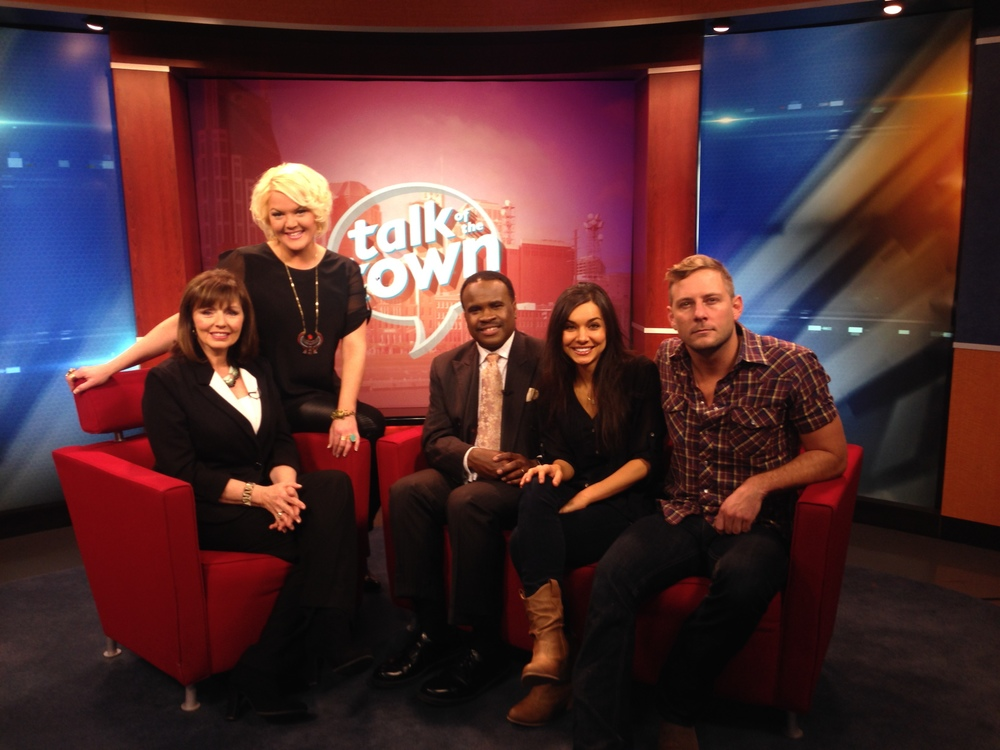 JANUARY 2014: WATCH HEATHER AND FELLOW CASTMEMBER JIMMY STANLEY ON NEWS CHANNEL 5'S  TALK OF THE TOWN
