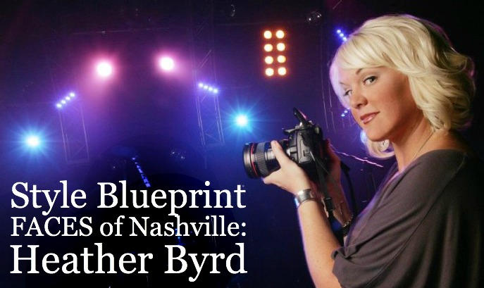 JUNE 2014 - HEATHER IS FEATURED IN STYLE BLUEPRINT AS THE JUNE 'FACES' OF NASHVILLE