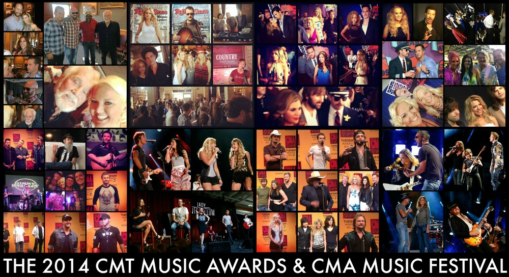 JUNE 2014 - HEATHER COVERED THE CMT MUSIC AWARDS AND A WEEK OF EXCITING EVENTS IN COORDINATION WITH THE CMA MUSIC FESTIVAL FOR US WEEKLY AND DO615
