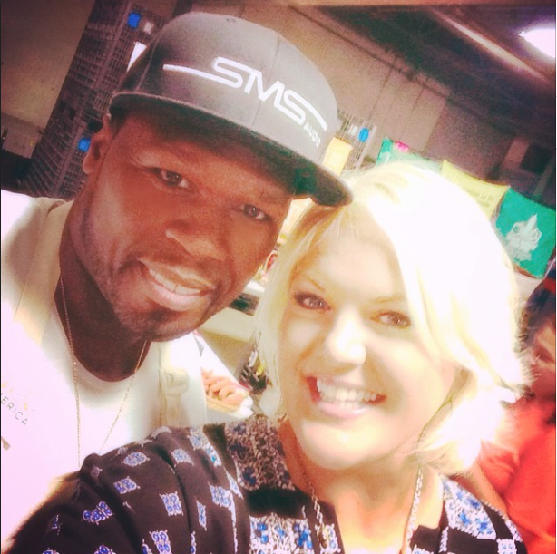 SEPTEMBER 2014 - HEATHER INTERVIEWED 50 CENT FOR US WEEKLY