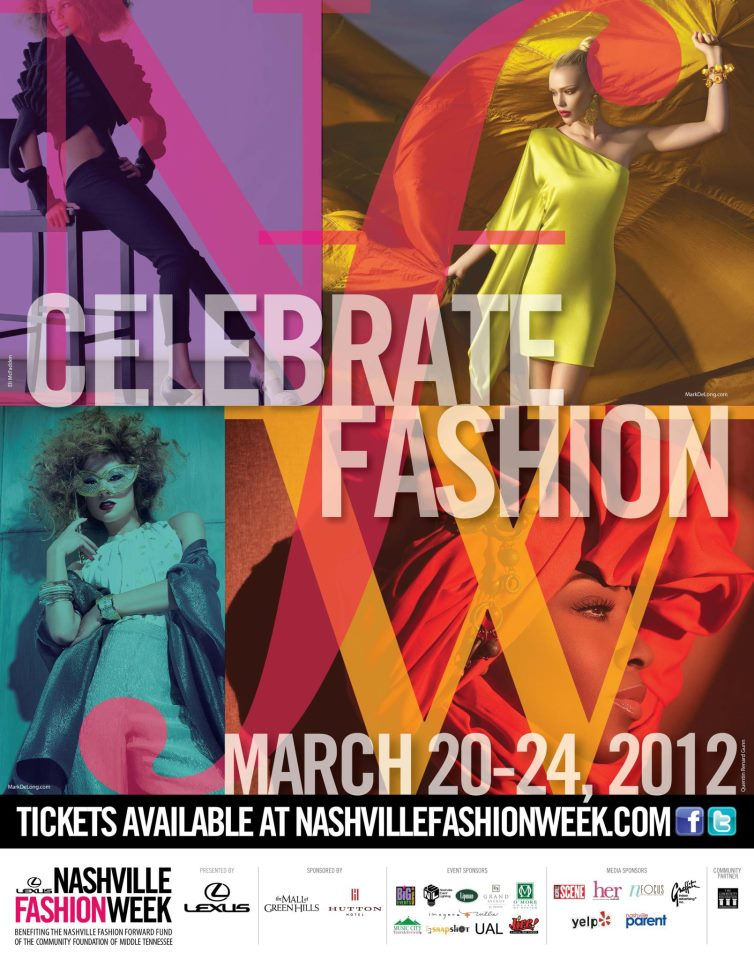 MARCH 2012 - HEATHER WORKED WITH THE PR EXECUTIVE COMMITTEE OF NASHVILLE FASHION WEEK