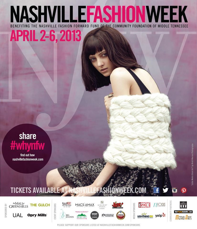 APRIL 2013 - HEATHER BECAME AN EXECUTIVE COMMITTEE MEMBER IN CHARGE OF PUBLICITY FOR NASHVILLE FASHION WEEK