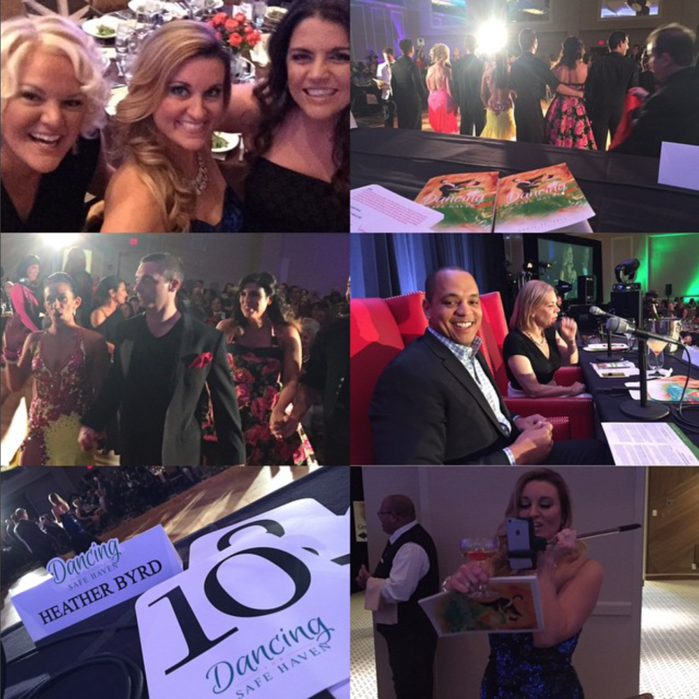 APRIL 2015 - HEATHER RETURNS FOR THE SIXTH CONSECUIVE YEAR TO CO-HOST DANCING FOR SAFE HAVEN, AN EVENT THAT RAISED $230K FOR NASHVILLE'S HOMELESS COMMUNITY