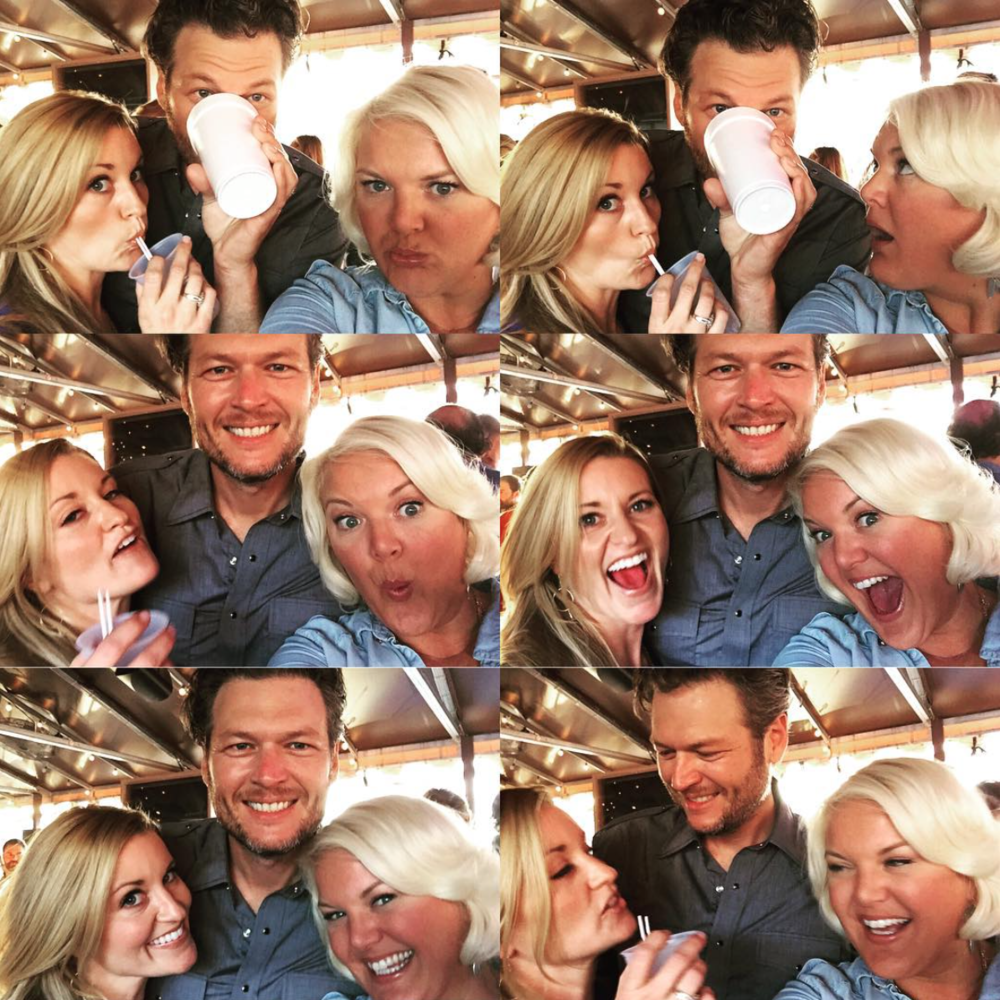 NOVEMBER 2015 - COVERING BLAKE SHELTON'S QUINTUPLE NO. 1 PARTY CELEBRATIONS FOR US WEEKLY