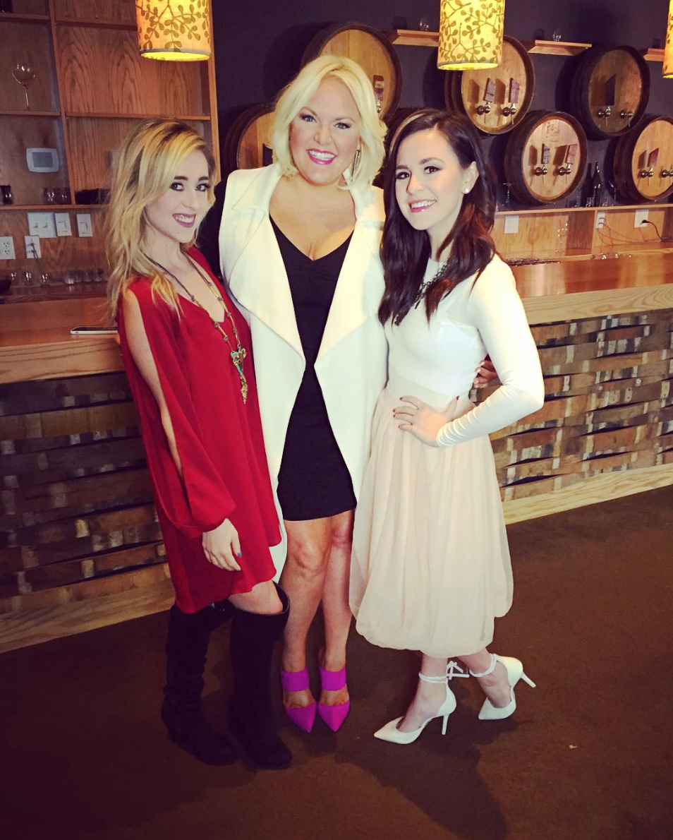 NOVEMBER 2015 - COVERING CMT'S NEXT WOMEN OF COUNTRY WITH YOUTUBE STARS MEGAN & LIZ FOR MY COUNTRY NATION