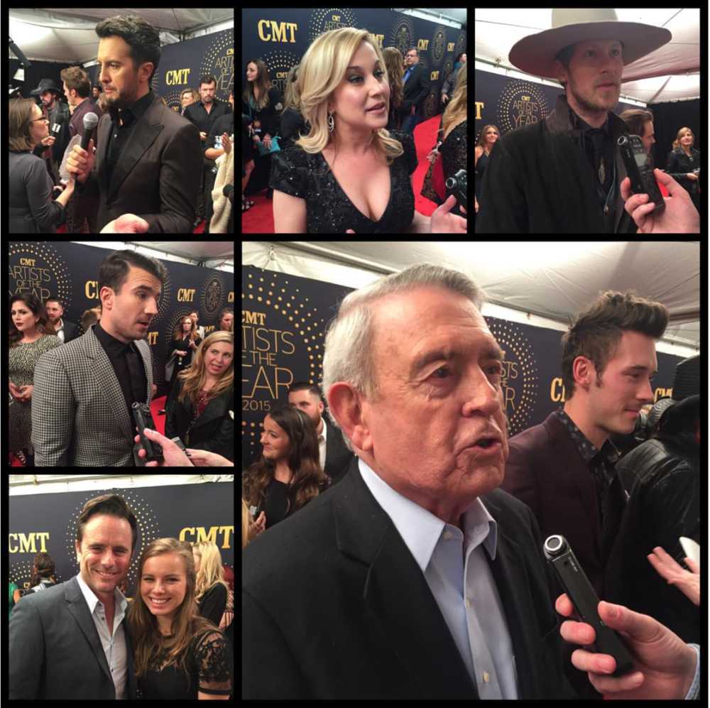 DECEMBER 2015 - COVERING CMT'S ARTISTS OF THE YEAR AWARDS FOR US WEEKLY