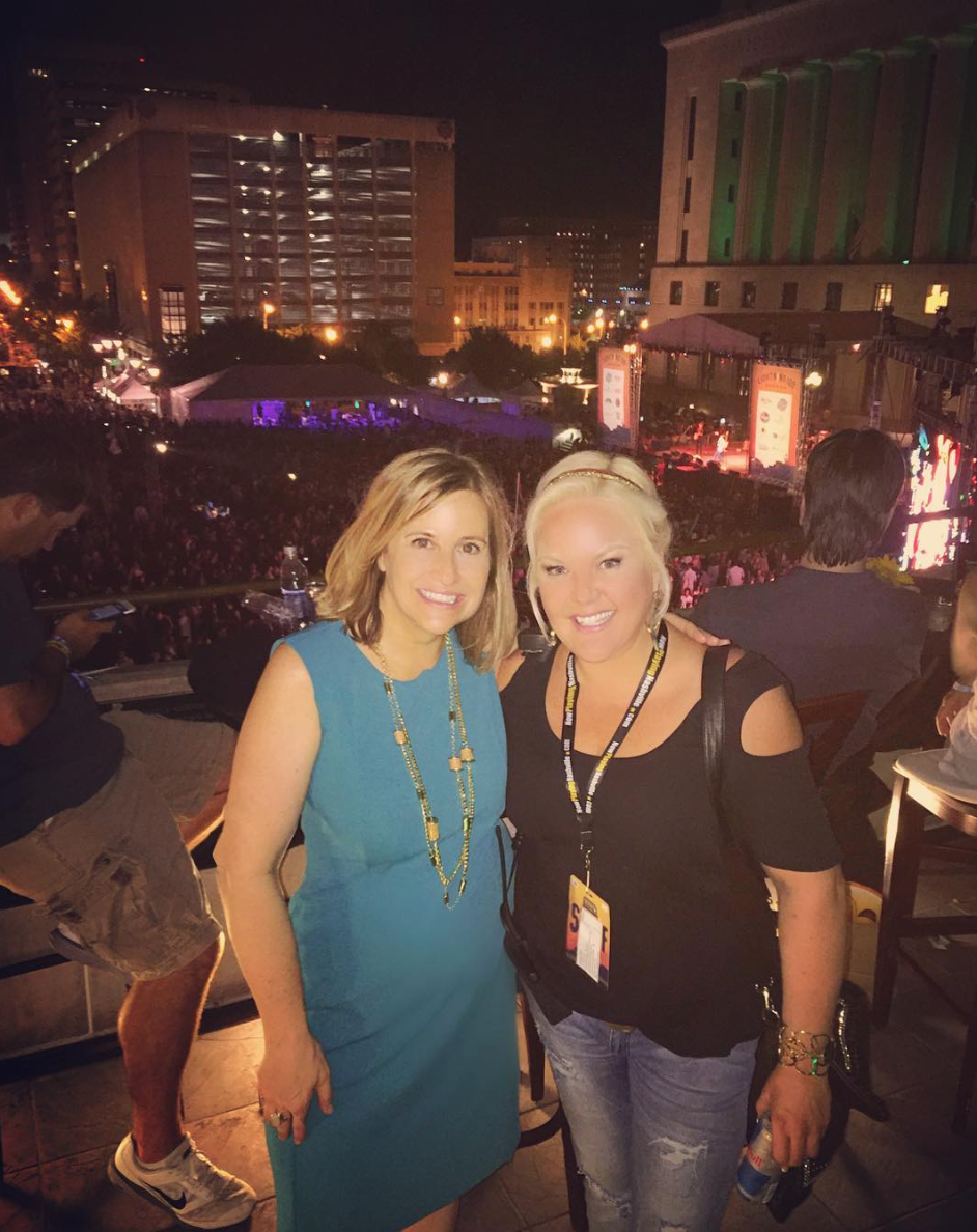 SEPTEMBER 2016 - HEATHER RETURNS AS DIRECTOR OF PR FOR LIGHTNING 100'S LIVE ON THE GREEN MUSIC FESTIVAL AND WELCOMES MAYOR BARRY