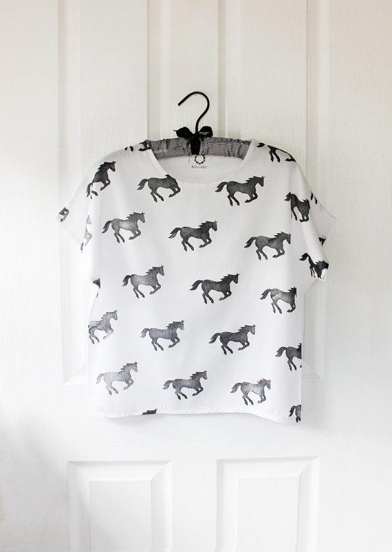 Wild Horses Top