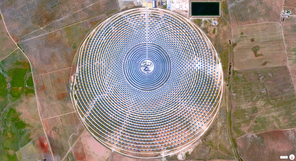 12/22/2013    Gemasolar Thermosolar Plant   Seville, Spain   37°33′29.11″N 5°19′44.6″W