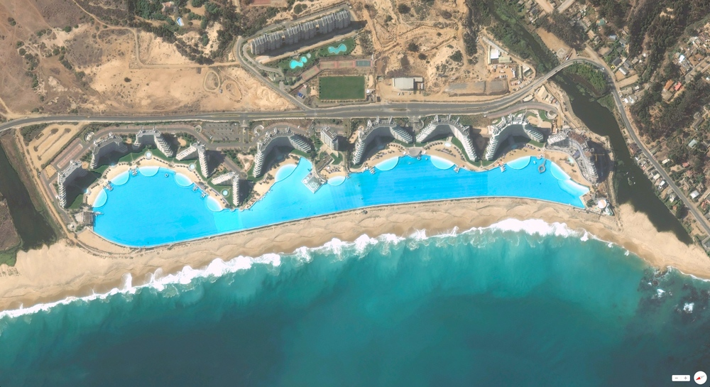 1/5/2014 San Alfonso del Mar Resort Algarrobo, Chile 33°21′S 71°39.2′W