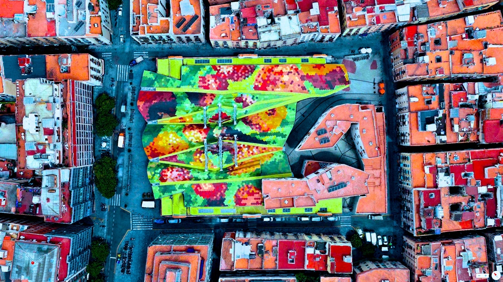 1/8/2014 Santa Caterina Market Barcelona, Spain 41°23′07″N2°10′37″E