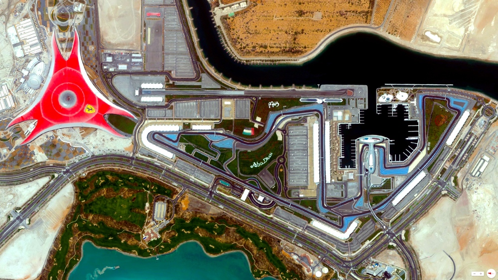 1/21/2014 Yas Marina Circuit  / Ferrari World Abu Dhabi, United Arab Emirates 24°28′02″N 54°36′11″E