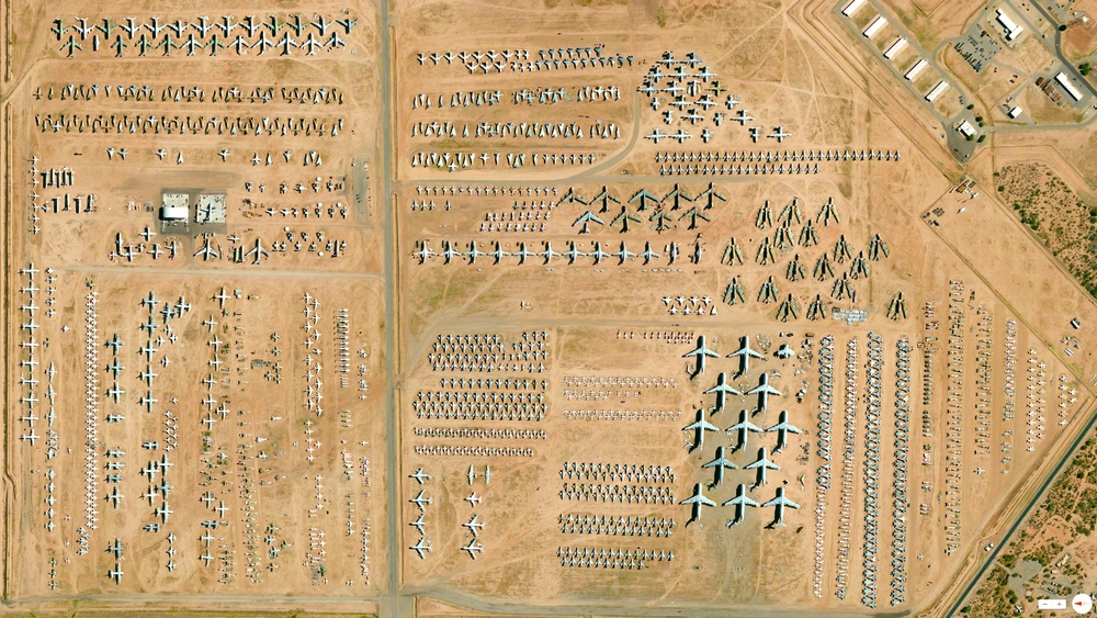 12/16/2013 309th Aerospace Maintenance and Regeneration Group Tucson, Arizona, USA 32.170890°N 110.855184°W