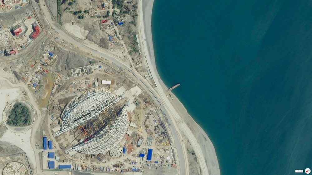 2/12/2014 Fisht Olympic Stadium Sochi, Russia 43°24′08″N39°57′22″E