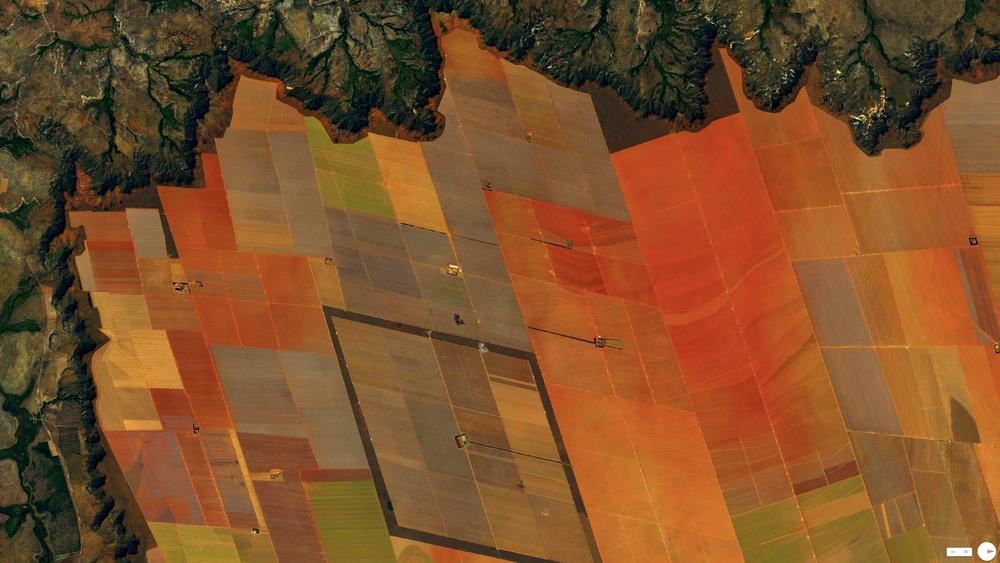 2/27/2014 Soybean fields São Domingos, Brazil / São Desidério, Brazil 12°22′S44°58′W