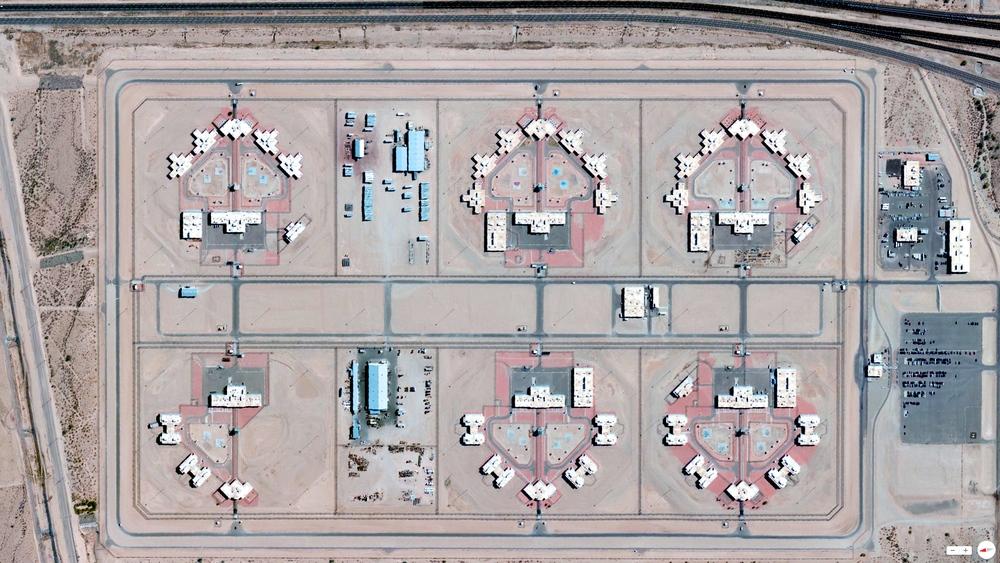 2/22/2014 Arizona State Prison Complex - Lewis Buckeye, Arizona 33.2094°N 112.653°W