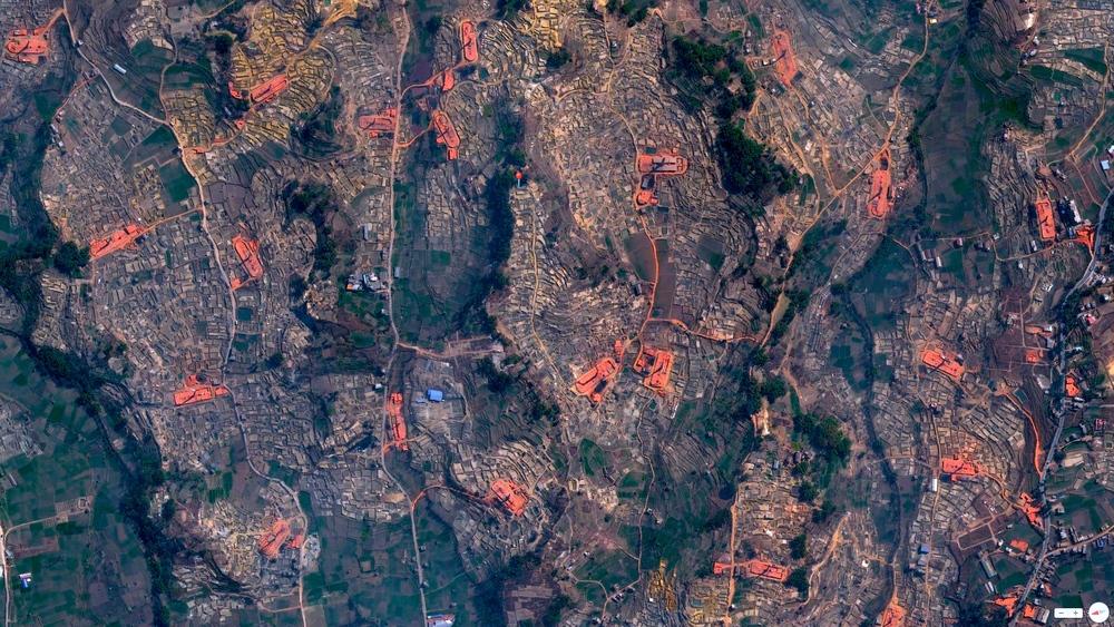 3/20/2014 Brick-making kilns Bhaktapur, Nepal 27.669467,85.457410