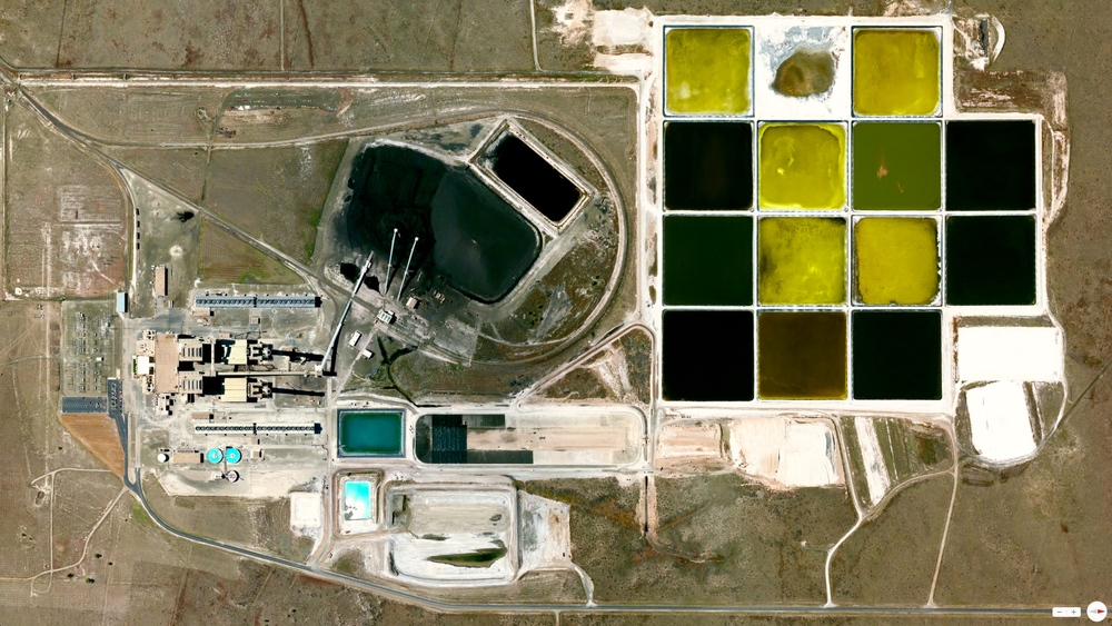 4/13/2014 Tolk Station (Coal-fired Power Station) Sudan, Texas, USA 34.195475, -102.573681