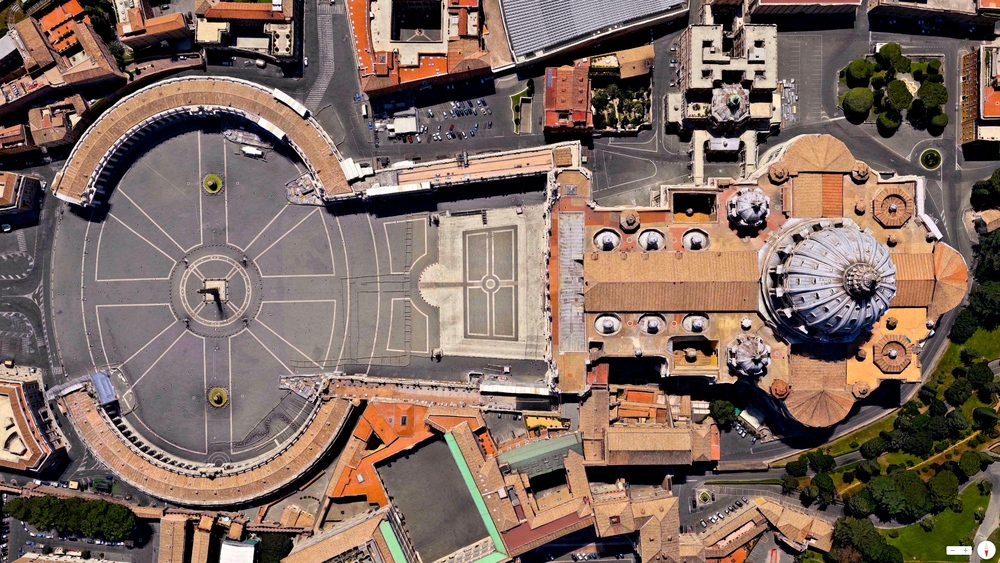 Easter Sunday St. Peter's Basilica Vatican City 41°54′8″N 12°27′12″E