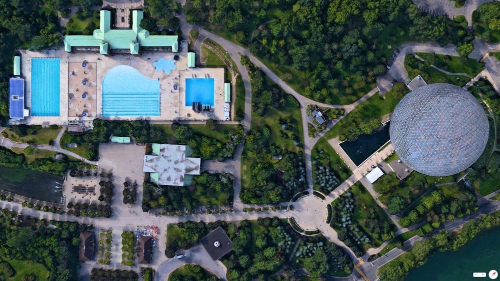 4/19/2014 Montreal Biosphere/Saint Helen's Island Aquatic Complex Montreal,, Canada 45°30′50.73″N73°31′53.38″W