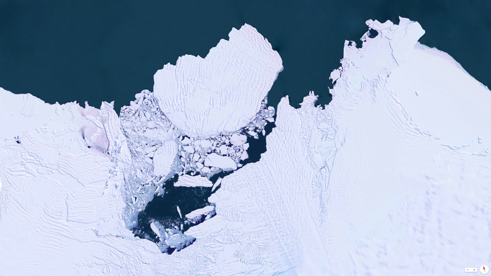 5/13/2014    Collapse of the West Antarctic Ice Sheet  /  Thwaites Glacier   Amundsen Sea, Marie Byrd Land, Antarctica   75°30′S 106°45′W