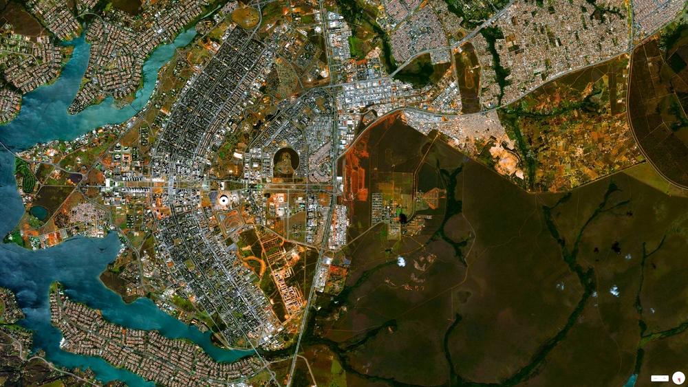 5/15/2014    Brasília's urban plan   Brasília, Brazil   15°47′56″S47°52′00″W