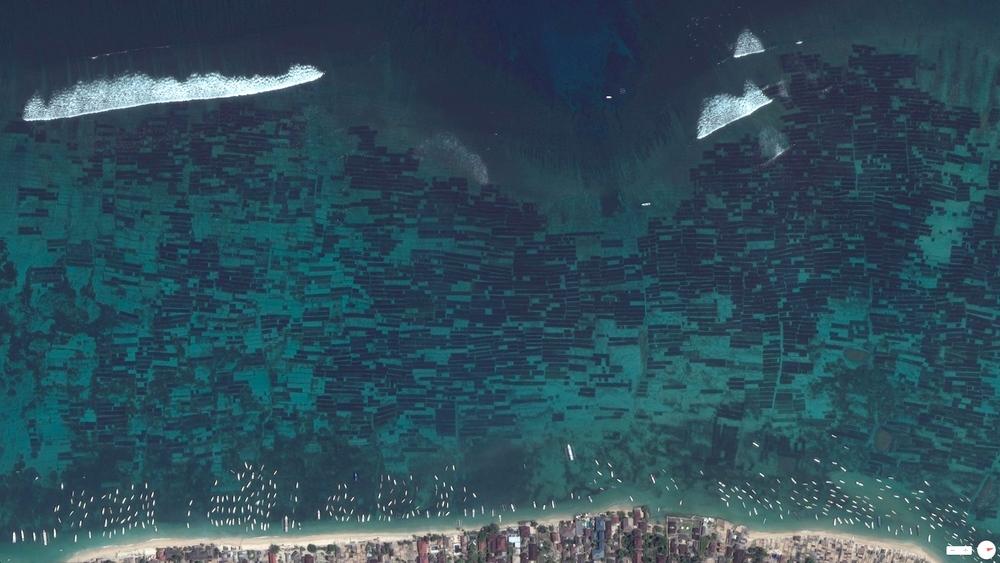 5/21/2014    Seaweed Farms   Nusa Lembongan, Indonesia   8°40.906′S115°27.067′E