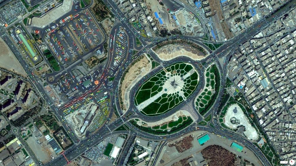 5/22/2014    Azadi Tower / Azadi Square   Tehran, Iran   35°41′58″N51°20′16″E