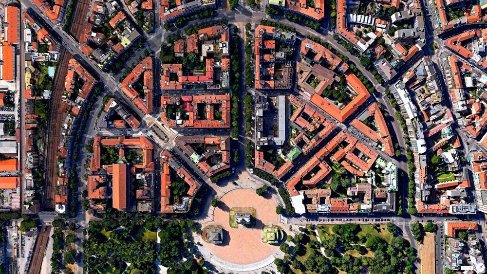 6/26/2014    Porta Sempione   Milan, Italy   45°28′33″N9°10′21″E