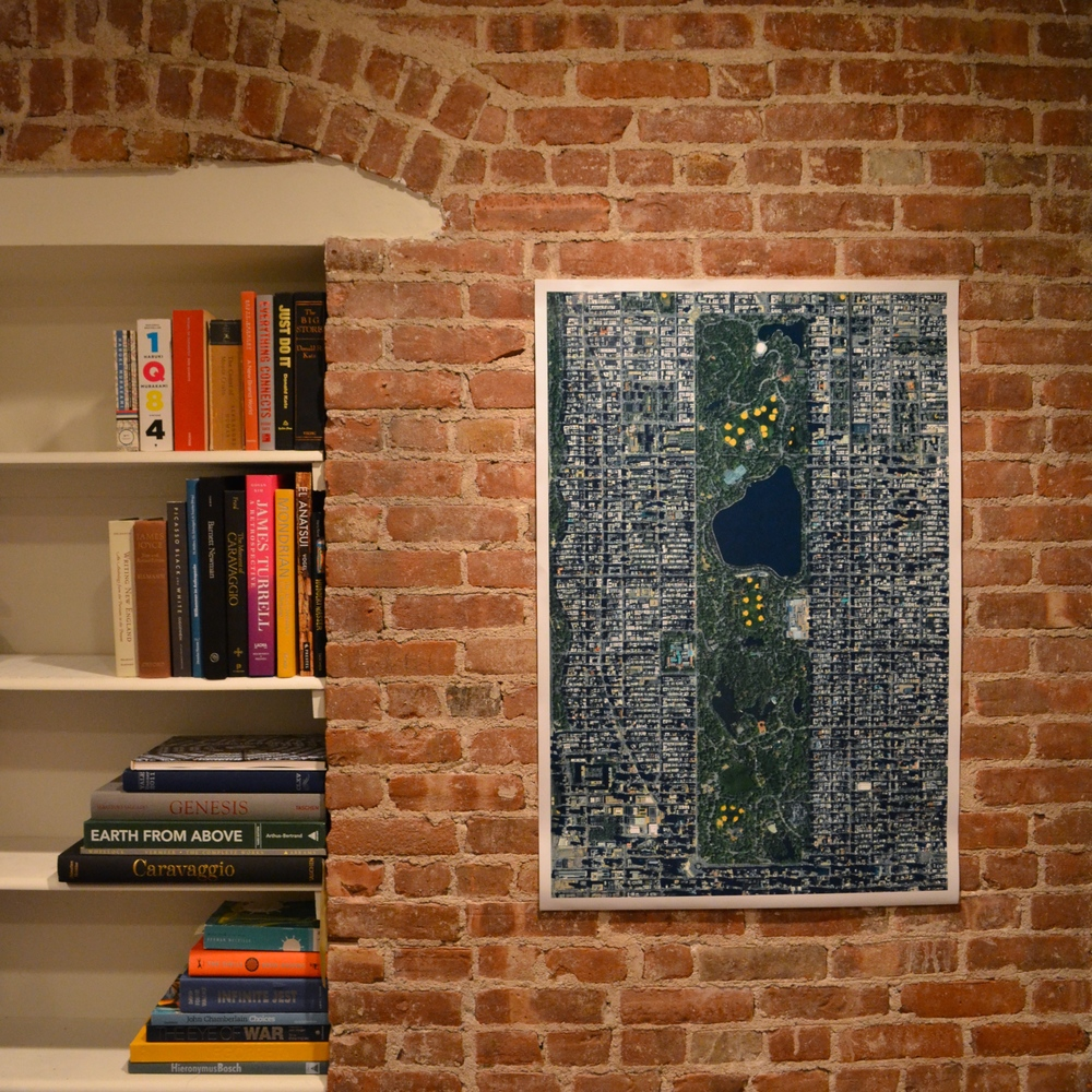 I'm thrilled to announce that this Overview of Central Park is now available in the Printshop. Since it's one of my favorites, I couldn't help but make one for myself! Have some empty walls you need to cover? See what's available in the  Printshop  and use the coupon INSTA10 for 10% off any purchase.