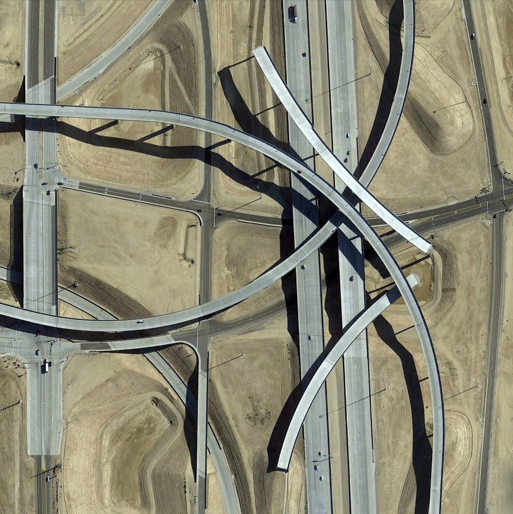 6/6/2015 Interchange construction Avondale, Arizona, USA 33.462550968°, -112.426634395°   An interchange is constructed around the Pagano Freeway in Avondale, Arizona, USA. On average, an American motorist will pay approximately $171/year in road maintenance taxes.