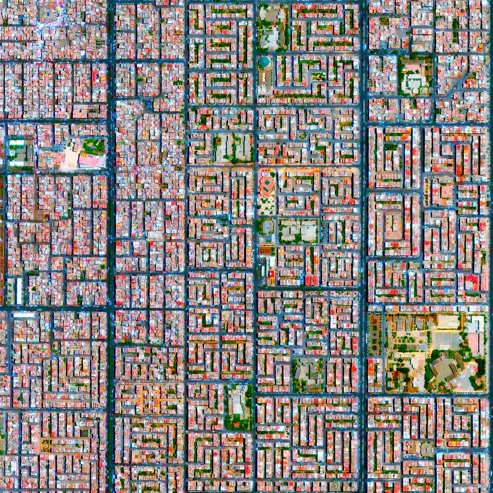 10/8/2015 Casablanca Casablanca, Morocco 33.546145122°, -7.573826684°   Casablanca is the largest city in Morocco with four million residents, accounting for 11% of the entire country. Many officials report that these figure are underestimated and the total population is actually somewhere between 5 and 6 million. This recent surge has occurred because severe droughts have forced many Moroccans to move into urban areas to find new forms of work. The Cite Djemaa neighborhood, located in the southeast of the city, is seen here.