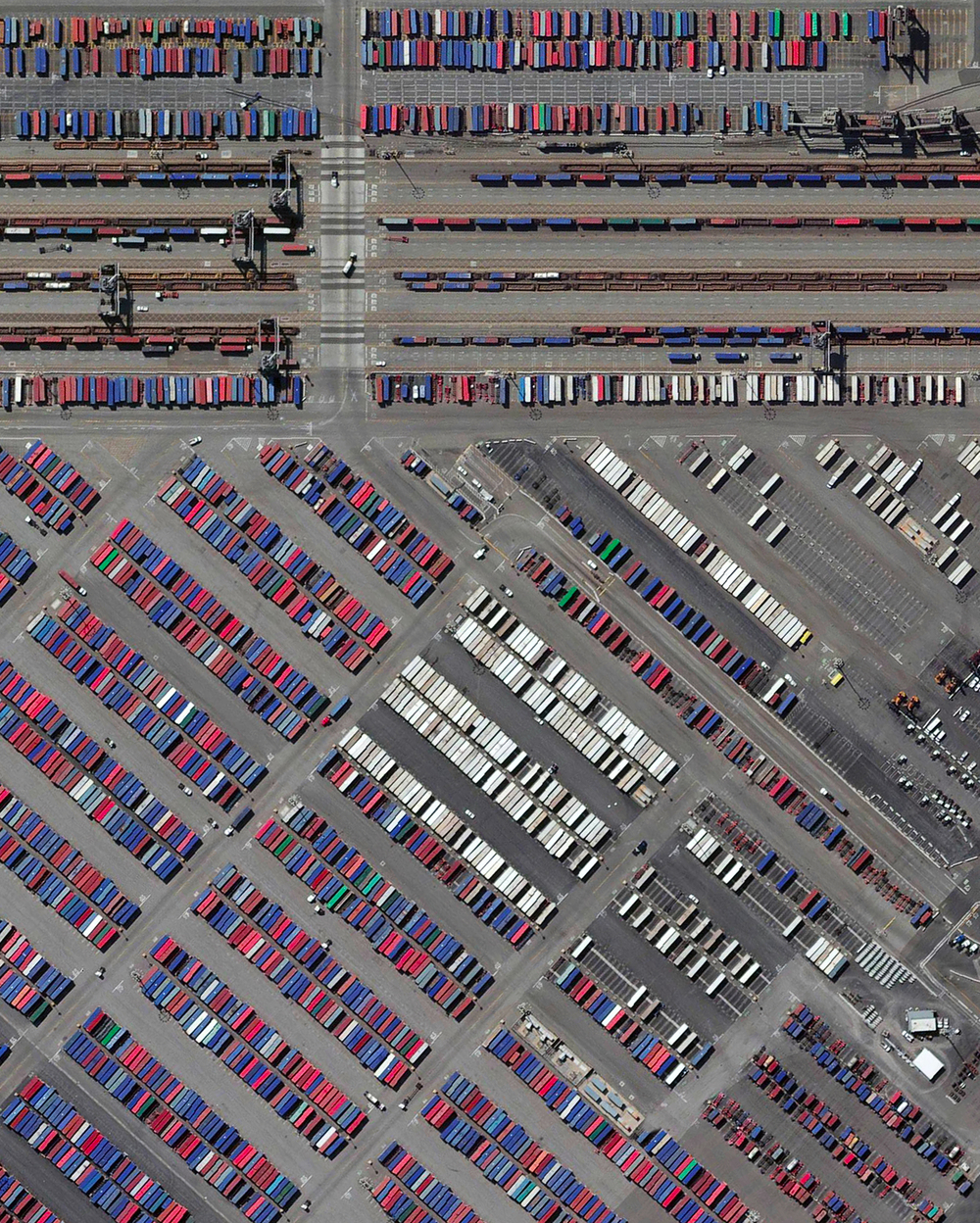 11/8/2015   Port of Los Angeles   Los Angeles, California, USA  33°43′45″N 118°15′43″W     The Port of Los Angeles is the busiest container port in the United States, but only the 16th-busiest in the world. Approximately $1.2 billion worth of cargo comes through the facility each day and more than 165 million metric revenue tons of cargo are moved here each year. The most-imported types of goods are furniture, automobile parts, apparel, electronic products, and footwear.