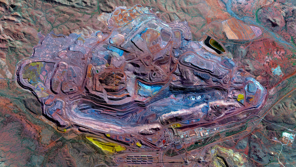Mount Whaleback Iron Ore Mine Daily Overview