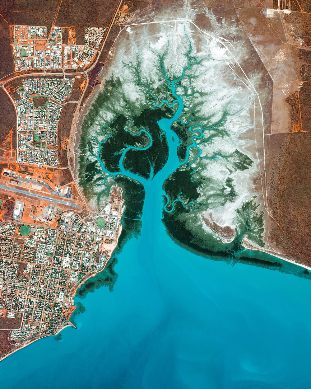 We are excited to announce our HOLIDAY SALE begins today with 20% off all prints! Check out our Printshop with the link in here:    www.dailyoverview.com/printshop    We also just added five pieces to the Printshop including this one of Broome, Australia! Use coupon code 'HOLIDAY20' to get your discount at checkout. Please note, international orders must be placed this week (before 12/1) to guarantee arrival before Christmas. Happy shopping!