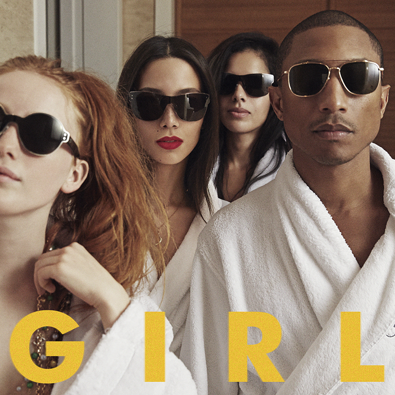 Review: Pharrell Williams -  G I R L