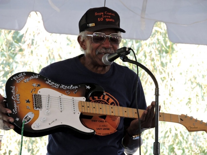 "Blues Legend ""Lazy Lester"". His 1958 hit ""Sugar Coated Love' launched Lester to become a true national treasure and is featured in Martin Scorsese film ""The Blues', in 2003. Check out ""Sugar Coated Love - 1958  click here."