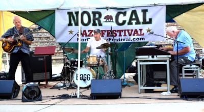 The Delbert Bump Trio, Sundial Music Festival, June 21, Riverfront Park, Redding.