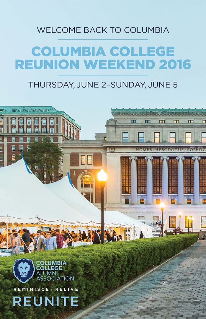 Reunion mailer's cover