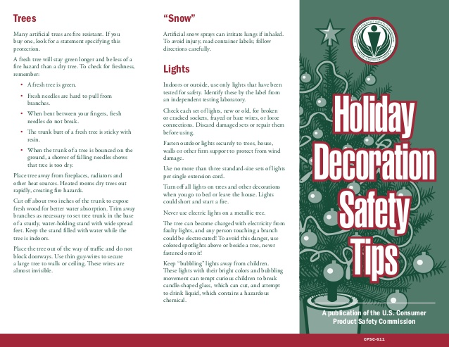 Want More Holiday Home Decorating Safety Tips