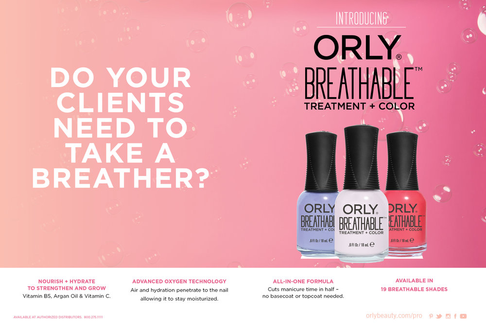 Art Direction Design ORLY International Marissa Berrini