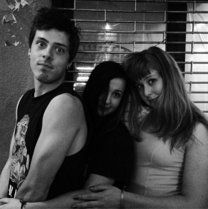 Ghost Punch consists of Adam Taylor, Kate Bennis and Sarah Rogers (Courtesy of Ghost Punch)