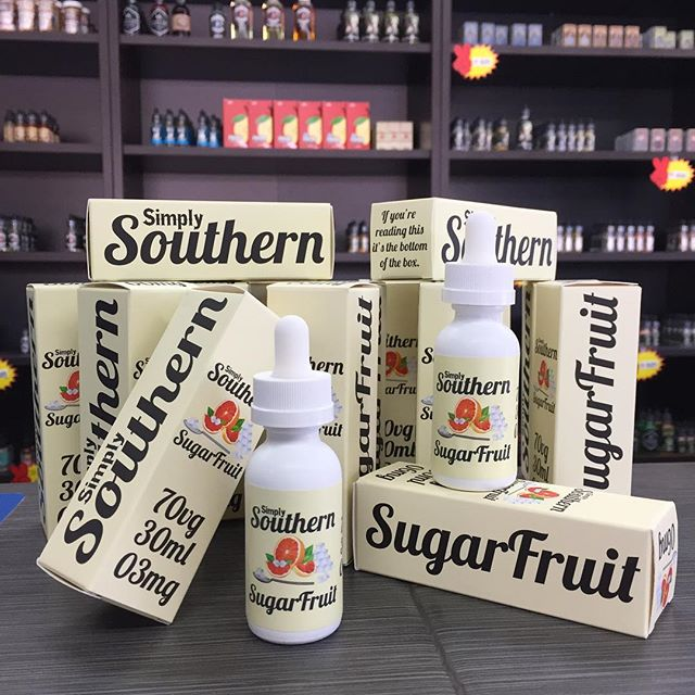🚨#newJuice #alert 🚨 and my new all day Vape. #simplysouthern #sugarfruit a subtropical #Grapefruit 🍊topped with mouthwatering sugar👌🏼. #nowavailable #vapecity #vapecityark