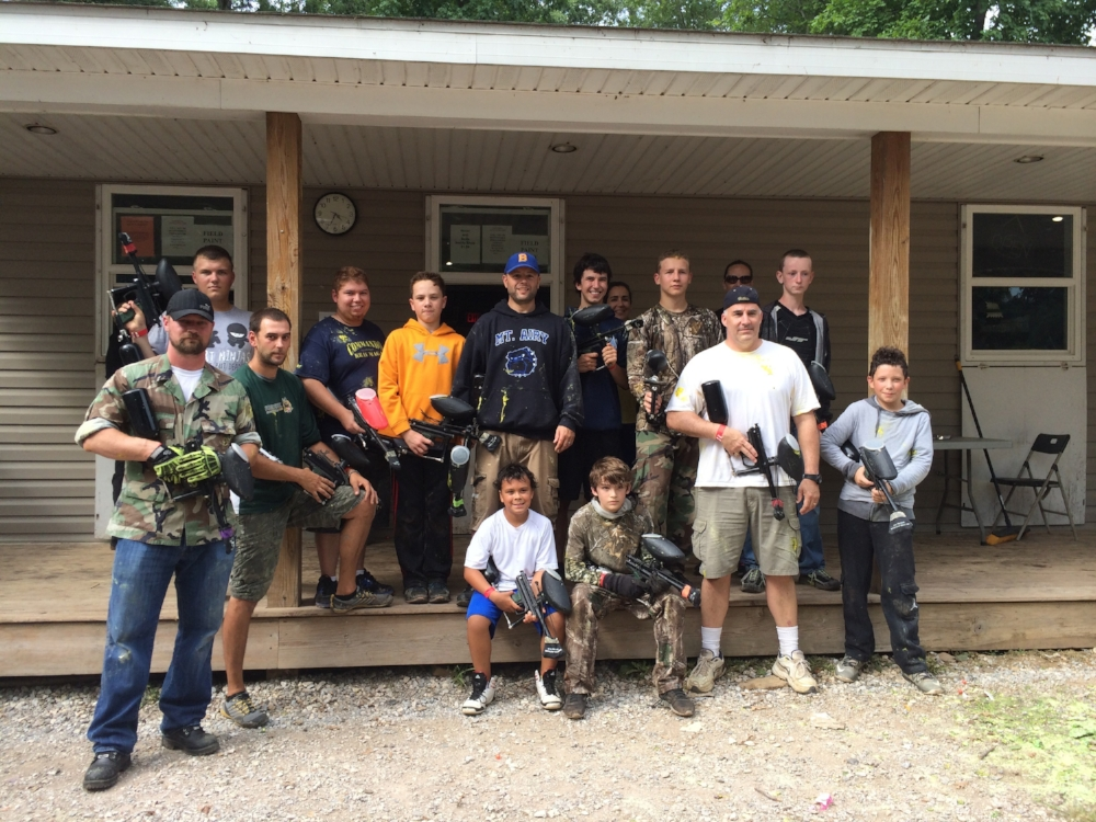 Paint Ball - Summer 2016