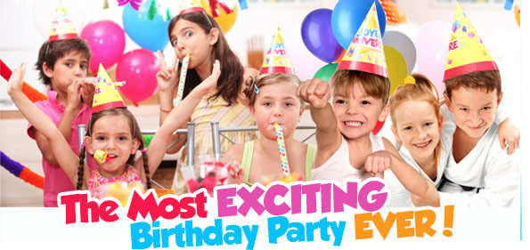 Schedule your party today! -