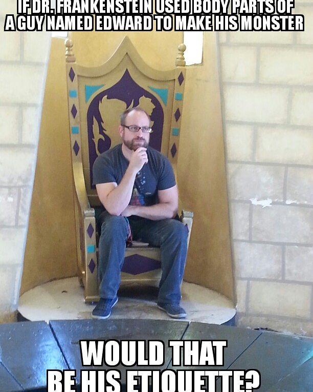 #funnymemes #meme #funnycuzitsbad #ed #edward #puns #like4like #likeforlike