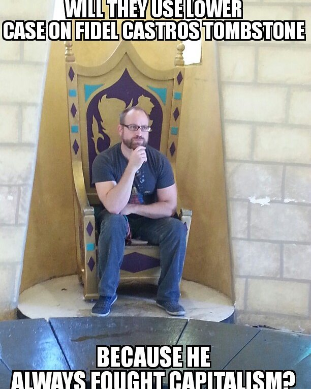 #fidel #fidelcastro #castro #funnymemes #meme #like4like #funnycuzitsbad #dannyminchcomedy