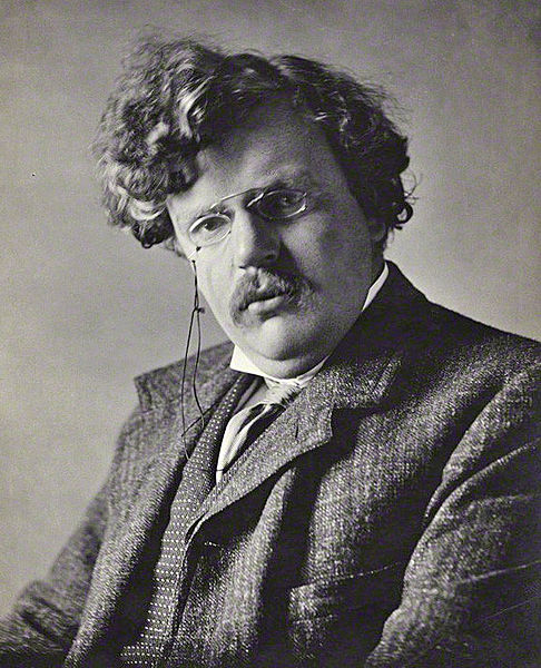 Gilbert Keith Chesterton, (1874 – 1936) better known as G.K. Chesterton, was an English writer, lay theologian, poet, dramatist, journalist, orator, literary and art critic, biographer, and Christian apologist.