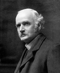 Sir Henry Jones (1852 – 1922), was a Welsh philosopher and academic. He was instrumental in the passing of the Intermediate Education Act of 1889, and worked for the establishment of the University of Wales and the introduction of a penny rate for education.